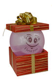 Birthday, box, celebrate, celebration, christmas, christmas gift, gift, giftbox, isolated Royalty Free Stock Image
