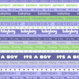 Birthday Boy Background Stock Photography