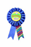 Birthday Boy Ribbon Stock Image