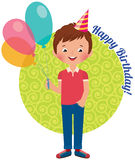 Birthday boy Royalty Free Stock Photography