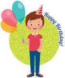 Birthday boy Royalty Free Stock Photography
