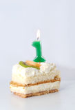 Birthday cake 1 year Royalty Free Stock Photo