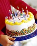 Birthday cake Stock Photography