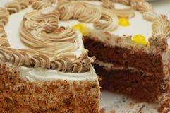 Birthday cake. Close up of birthday cake royalty free stock images
