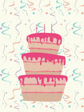 Birthday cake Royalty Free Stock Image