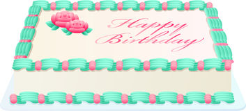 Birthday Cake Royalty Free Stock Images
