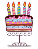Birthday cake Royalty Free Stock Photo