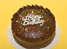 Free Birthday Cake Royalty Free Stock Image - 2535436