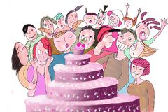 Free Birthday Cake Royalty Free Stock Photography - 2611227