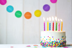 Birthday Cake Stock Image