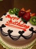 Birthday cake. Brooklyn Fay Da Bakery birthday cake Royalty Free Stock Photo