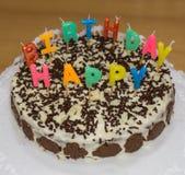 birthday cake candles illustration vector Χρόνια πολλά αντικείμενο τροφίμων στοκ φωτογραφίες με δικαίωμα ελεύθερης χρήσης