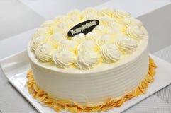 The birthday cake stock photo