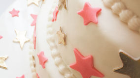 Birthday Cake Details Royalty Free Stock Photo