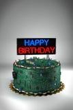 Birthday Cake for Geeks Stock Photos