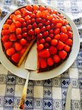 Birthday cake. Happy birthday dad stock photos