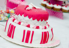Sweet Birthday cake Royalty Free Stock Photography