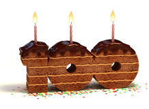 Free Birthday Cake Hundredth Birthday Or Anniversary Royalty Free Stock Photos - 18035788
