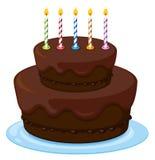 A birthday cake Stock Photo