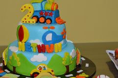 Birthday Cake. For a Birthday party Royalty Free Stock Photography