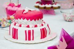 Sweet Birthday cake Royalty Free Stock Photo