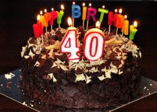 Groovy 40Th Birthday Cake Stock Photos Download 50 Royalty Free Photos Funny Birthday Cards Online Sheoxdamsfinfo