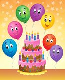 Birthday cake theme image 8 Royalty Free Stock Photos