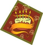 Birthday Cake! Vector / Clip Art Stock Photography