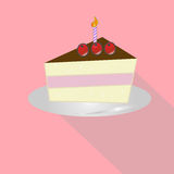 Birthday cake vector Stock Photos