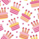Birthday Cakes Royalty Free Stock Photography
