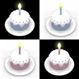 Birthday Cakes Stock Photo