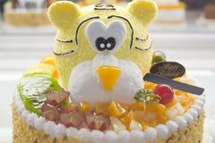 Birthday cakes, pastries design Royalty Free Stock Photo