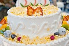 Birthday cakes, pastries design Stock Photography