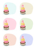 Birthday cakes Stock Photo