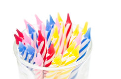 Birthday candle Stock Photo