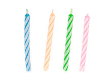 Birthday Candle Cake Stock Image