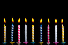 Free Birthday Candles Royalty Free Stock Image - 19162296