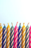 Birthday Candles 2 Stock Photo