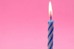 Birthday Candles Stock Photo