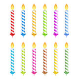Birthday Candles vector illustration