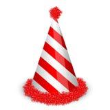 Birthday cap. Vector illustration of birthday cap Stock Image