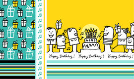 Birthday card 2 Royalty Free Stock Photos