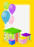 Birthday card Stock Image