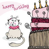 Birthday card Stock Images