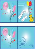 birthday card Στοκ εικόνα με δικαίωμα ελεύθερης χρήσης