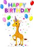 Birthday card background Stock Photos