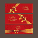 Birthday card with background vector design royalty free stock image