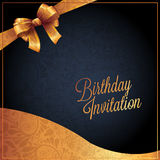 Birthday card with background vector design Stock Photo