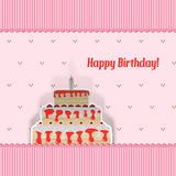 Birthday Card Stock Image
