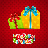 Birthday card Royalty Free Stock Images